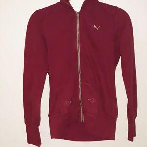 Puma hooded zip up
